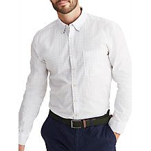 Buy Joules Welford Oxford Check Classic Fit Shirt, Chalk Online at johnlewis.com