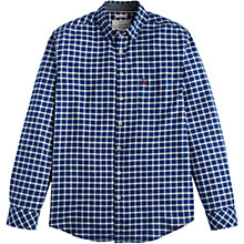 Buy Joules Welford Oxford Check Classic Fit Shirt, Indigo Online at johnlewis.com