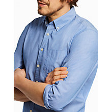 Buy Joules Hensley Slim Fit Long Sleeve Shirt, Bold Blue Stripe Online at johnlewis.com