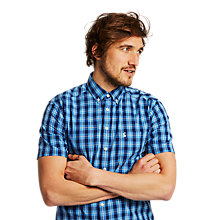 Buy Joules Wilson Classic Fit Short Sleeve Check Shirt Online at johnlewis.com