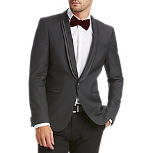 Buy HUGO by Hugo Boss Arondo Extra Slim Fit Dress Jacket, Black Online at johnlewis.com