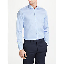 Buy John Lewis Non Iron Bengal Stripe Slim Fit Shirt, Blue Online at johnlewis.com