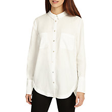 Buy Phase Eight Arabela Shirt, Cream Online at johnlewis.com