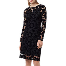 Buy Finery Basset Lace Dress, Black Online at johnlewis.com