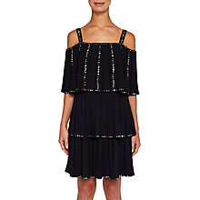 Buy Ted Meltea Embellished Pleated Dress Online at johnlewis.com