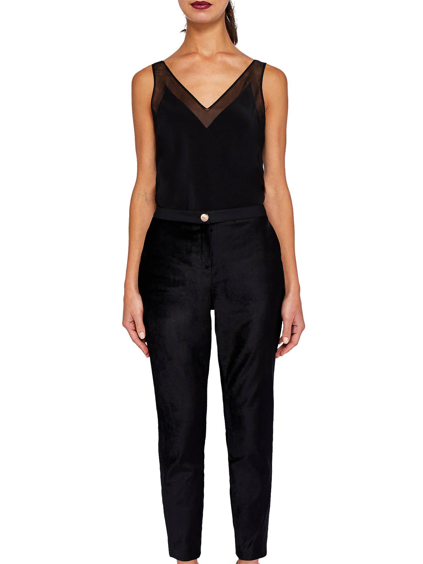 aef34fd573ac90 ... Buy Ted Baker Kairaat Velvet Suit Trousers