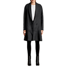 Buy AllSaints Grace Wool Blend Drop Waist Coat Online at johnlewis.com