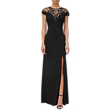 Buy Adrianna Papell Sequin Jersey Dress, Black Online at johnlewis.com