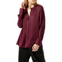 Buy Jigsaw Crocus Drape Shirt Online at johnlewis.com