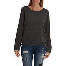 Buy Betty & Co. Textured Top, Dark Grey Melange Online at johnlewis.com