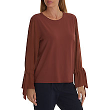 Buy Betty & Co. Bell Sleeve Top, Cinnamon Online at johnlewis.com