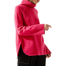 Buy Jigsaw Raglan Merino Wool Fleece Jumper Online at johnlewis.com