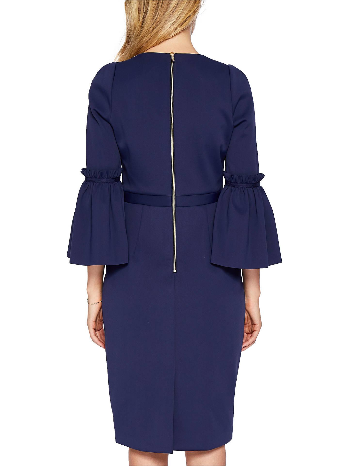 e73025ed1 ... Buy Ted Baker Jeeane Stardust Flute Sleeve Dress