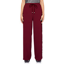 Buy Ted Baker Colour by Numbers Gabtay Velvet Stripe Jogger Trousers Online at johnlewis.com