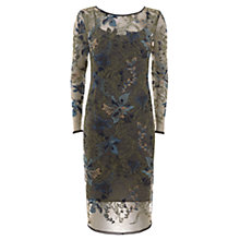 Buy Mint Velvet Embroidered Midi Dress, Multi Online at johnlewis.com