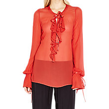 Buy Ghost Becca Blouse, Orange Online at johnlewis.com