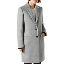 Buy Jigsaw Single Breasted City Wool Coat Online at johnlewis.com