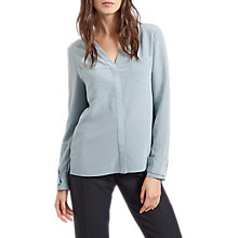 Buy Jaeger Front Pocket Washable Silk Blouse Online at johnlewis.com