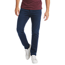 Buy BOSS Orange 90-C Tapered Jeans, Navy Online at johnlewis.com