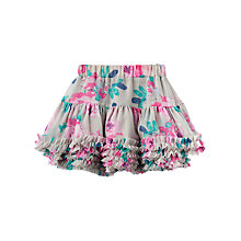 Buy Little Joule Girls' Lilian Tutu Skirt, Grey Online at johnlewis.com