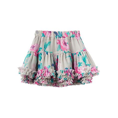 Buy Little Joule Girls Lilian Tutu Skirt Grey Online At Johnlewis