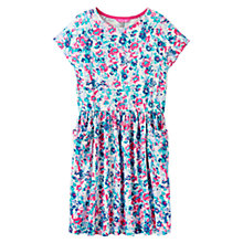 Buy Little Joule Girls' Jude Floral Dress, Multi Online at johnlewis.com