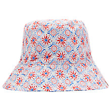 Buy Little Joules Children's Sun Seeker Reversible Hat, Multi Online at johnlewis.com