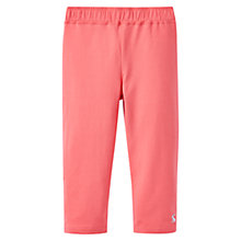 Buy Little Joule Girls' Orla Cropped Leggings, Red Online at johnlewis.com