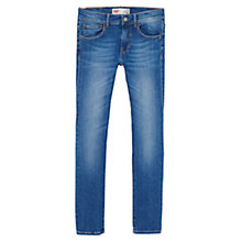 Buy Levi's Boys' Skinny Fit Jeans, Indigo Online at johnlewis.com