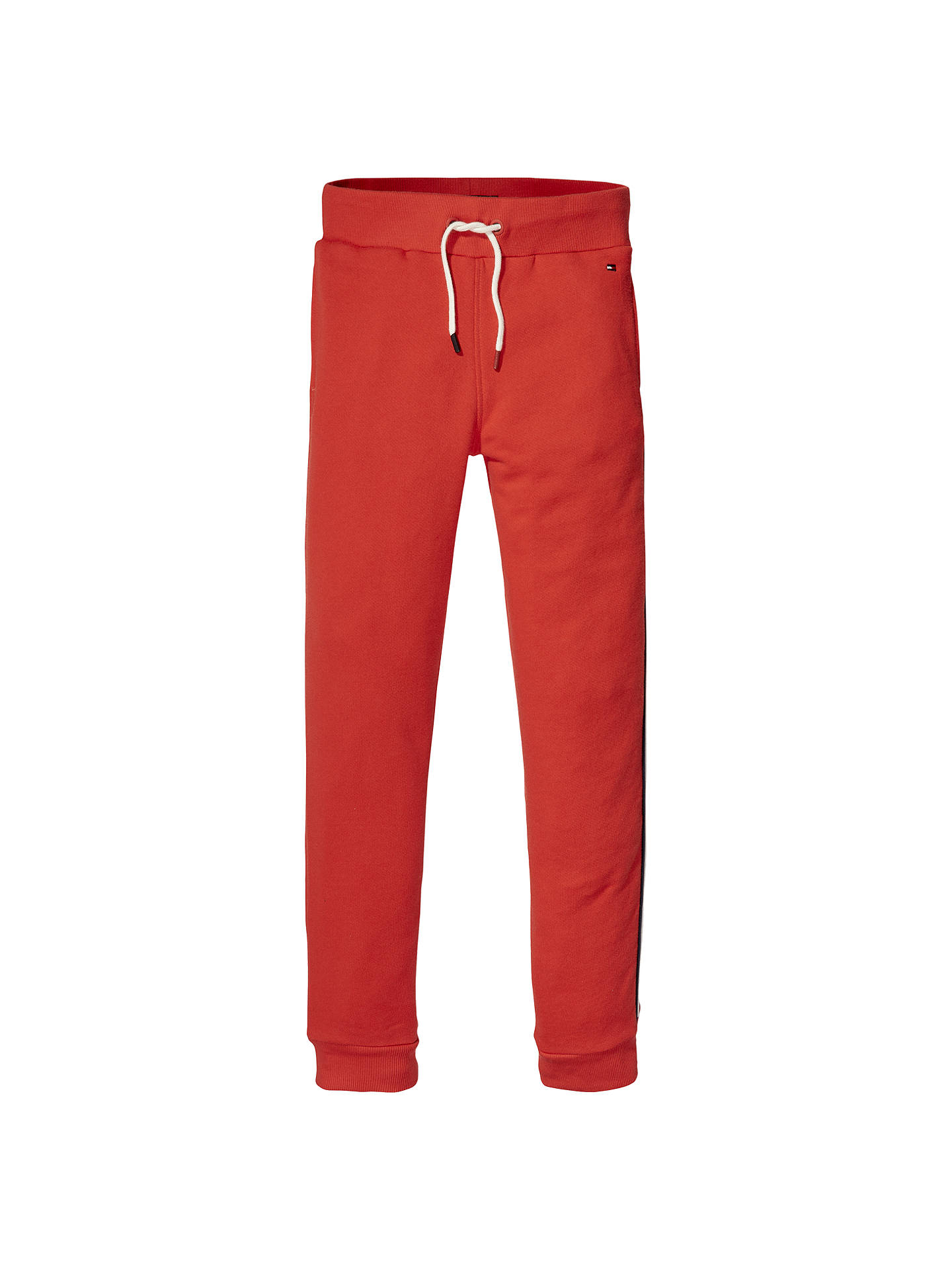 38e28806e5a Buy Tommy Hilfiger Boys' Sweatpants, Red, 3 years Online at johnlewis. ...