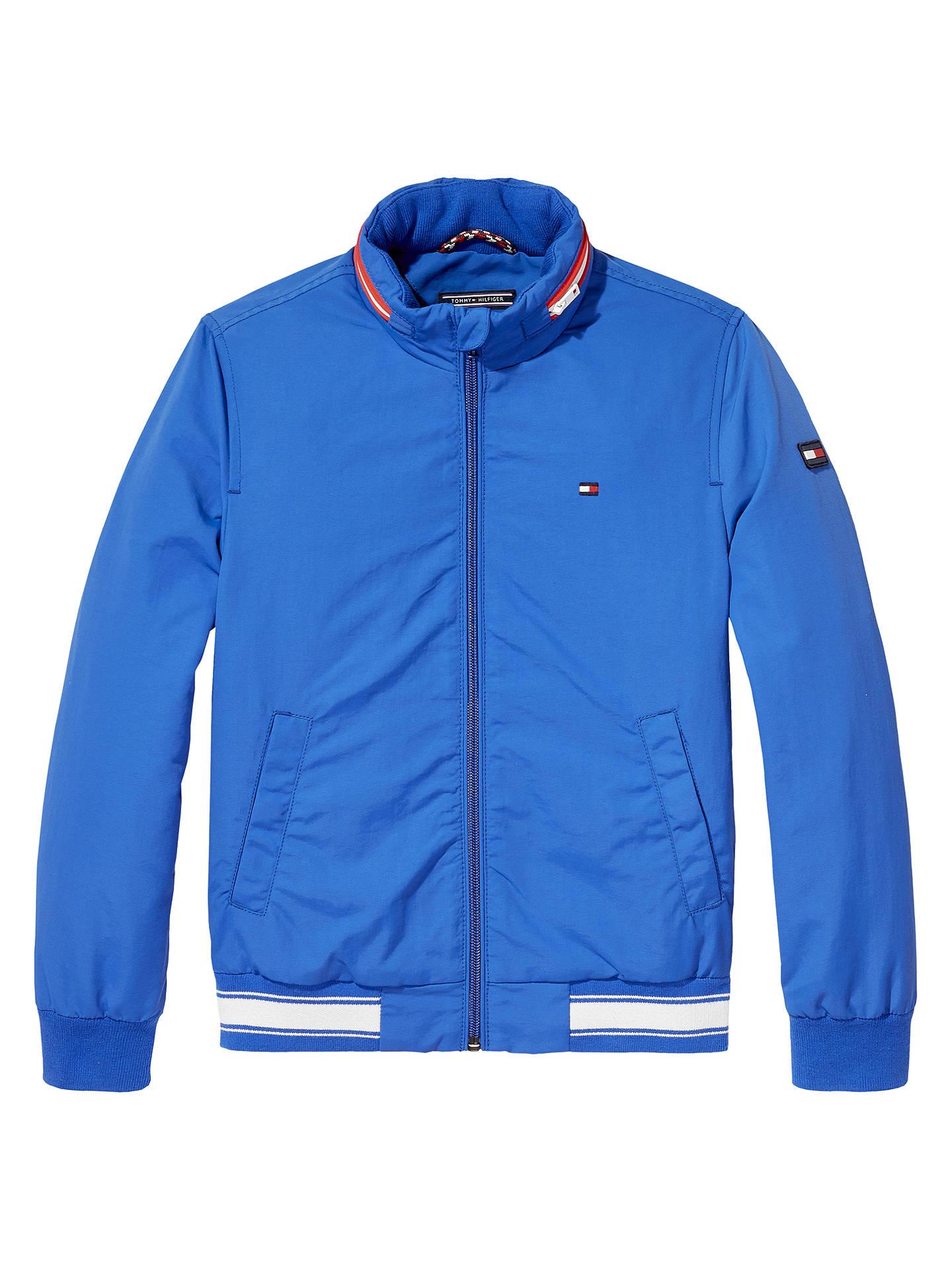 Tommy Hilfiger Boys' Ame Perky Bomber Jacket, Blue at John