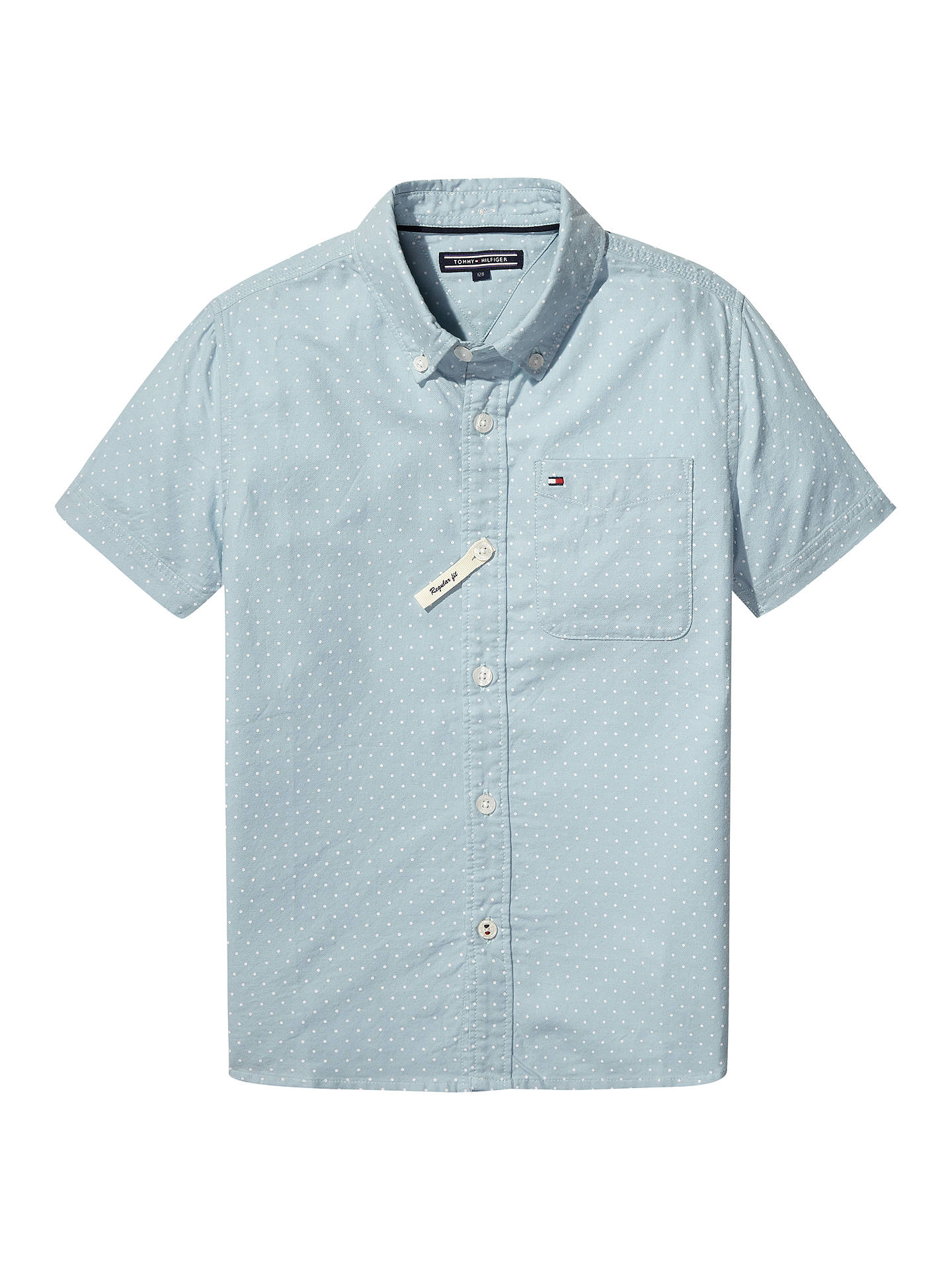df493659aa17 Buy Tommy Hilfiger Boys  Dot Print Short Sleeve Shirt