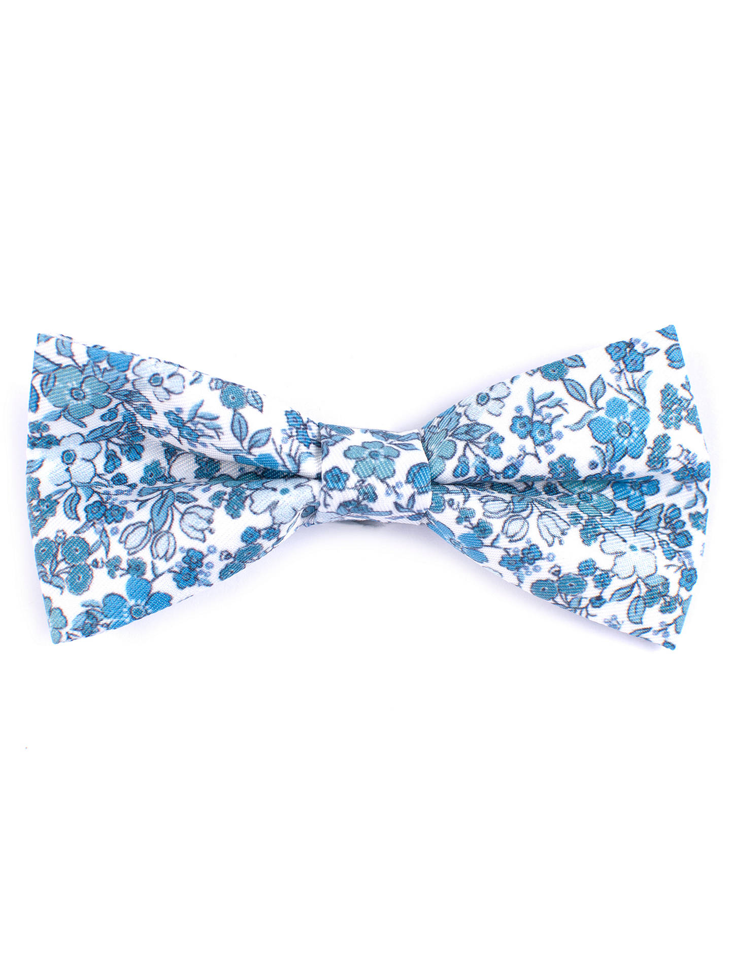 d564dbc534b84 John Lewis Heirloom Collection Boys' Floral Bow Tie, Blue/White at ...