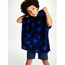 Buy John Lewis Children's Star Print Poncho, Multi Online at johnlewis.com