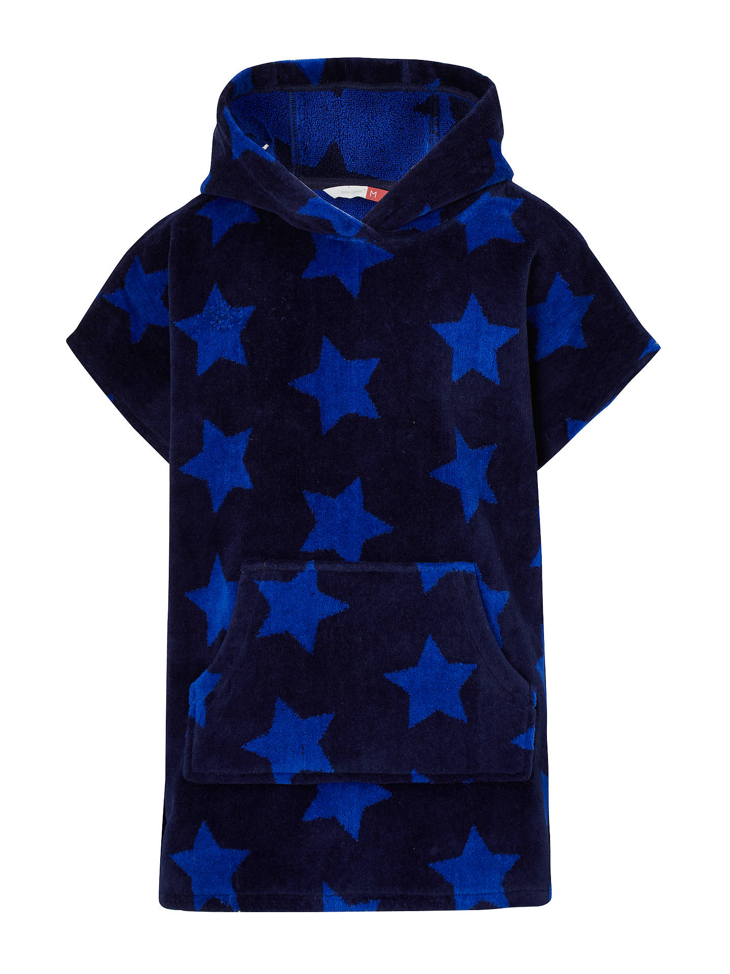 Buy John Lewis & Partners Children's Star Print Poncho, Multi, S Online at johnlewis.com