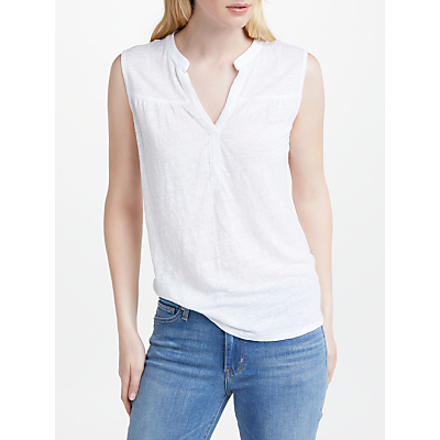 Free Shipping How Much John Lewis Gathered Sleeveless Linen Top Pick A Best Buy Authentic Online Best Supplier Cheap Sale For Nice ege0NboRU