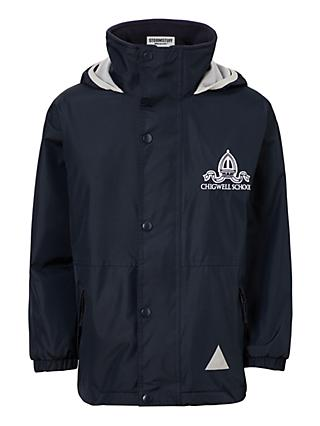 Chigwell School Waterproof Coat, Navy Blue