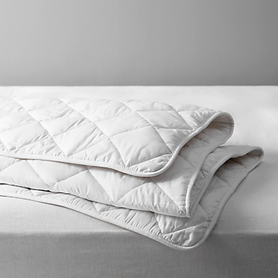 John Lewis Natural Light Cotton Comfort Duvet, 2.5 Tog