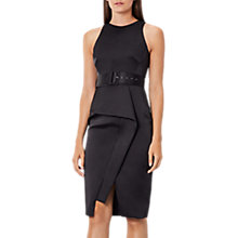 Buy Coast Rosalind Belted Shift Dress, Black Online at johnlewis.com