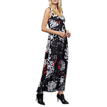 Buy East Shanghai Flower Maxi Dress, Black/Multi Online at johnlewis.com