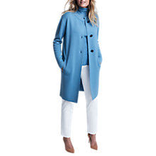 Buy Winser London Merino Wool Three Button Coat Online at johnlewis.com
