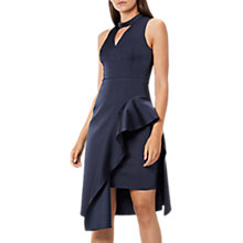 Buy Coast Carlotta Midi Dress, Navy Online at johnlewis.com