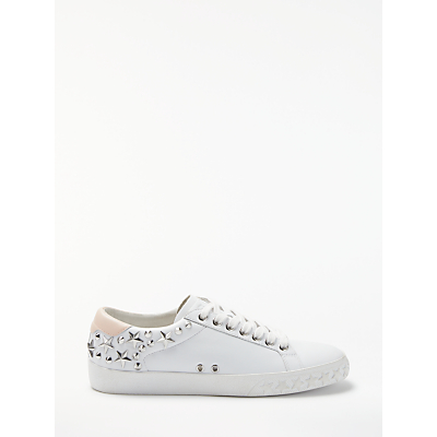 Ash Daze Lace Up Trainers, White Leather