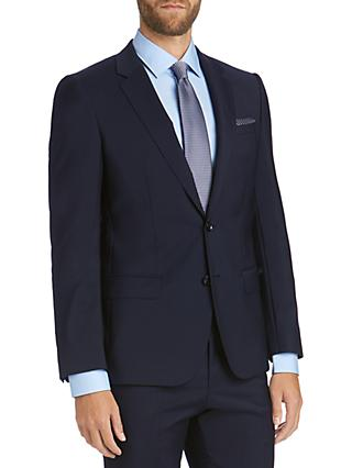 HUGO by Hugo Boss Virgin Wool Slim Fit Suit Jacket, Navy