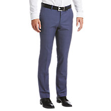 Buy HUGO by Hugo Boss C-Getlin Birdseye Slim Fit Suit Trousers, Dark Blue Online at johnlewis.com