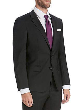 HUGO by Hugo Boss Virgin Wool Slim Fit Suit Jacket, Black