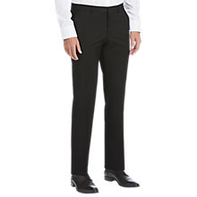Buy HUGO by Hugo Boss Virgin Wool Slim Fit Suit Trousers, Black Online at johnlewis.com
