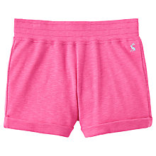 Buy Little Joule Girls' Jersey Shorts, Pink Online at johnlewis.com