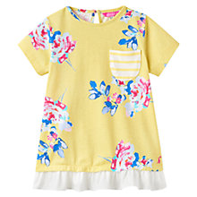 Buy Little Joule Girls' Lulabelle Jersey Top, Yellow Online at johnlewis.com