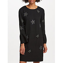 Buy Essentiel Antwerp Star Embellished Dress, Black Online at johnlewis.com